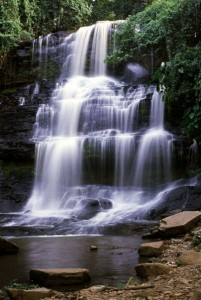 BA. kintampo falls, brong - ahafo region